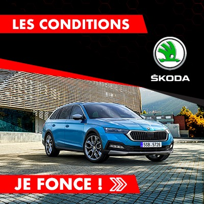 Conditions Salon 2021 SKODA chez Michaël Mazuin Fleurus